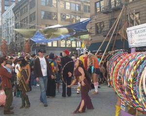How Weird 2009 vendors - hula hoops