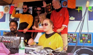 How Weird 2011 - Vulcan Stage crew
