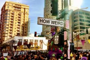 How Weird 2013 center signs