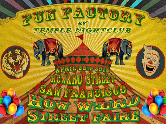 Fun Factory stage by Temple