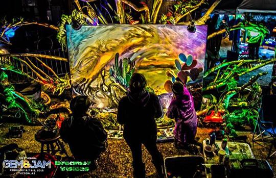 Art Alley artists