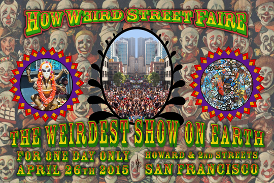 How Weird Street Faire 2015
