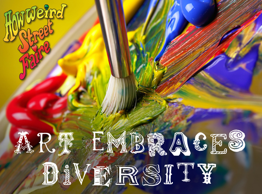Art embraces diversity