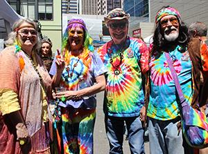 Hippies at How Weird 2016