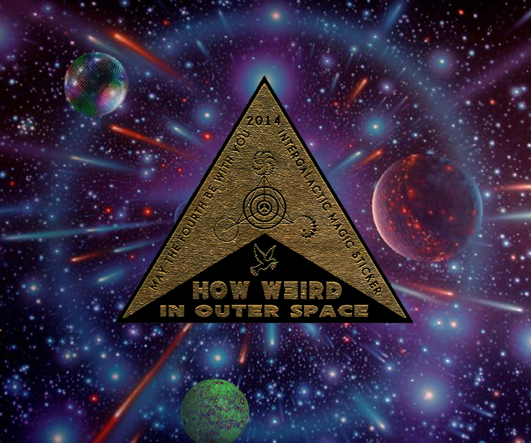 How Weird Magic Sticker 2014