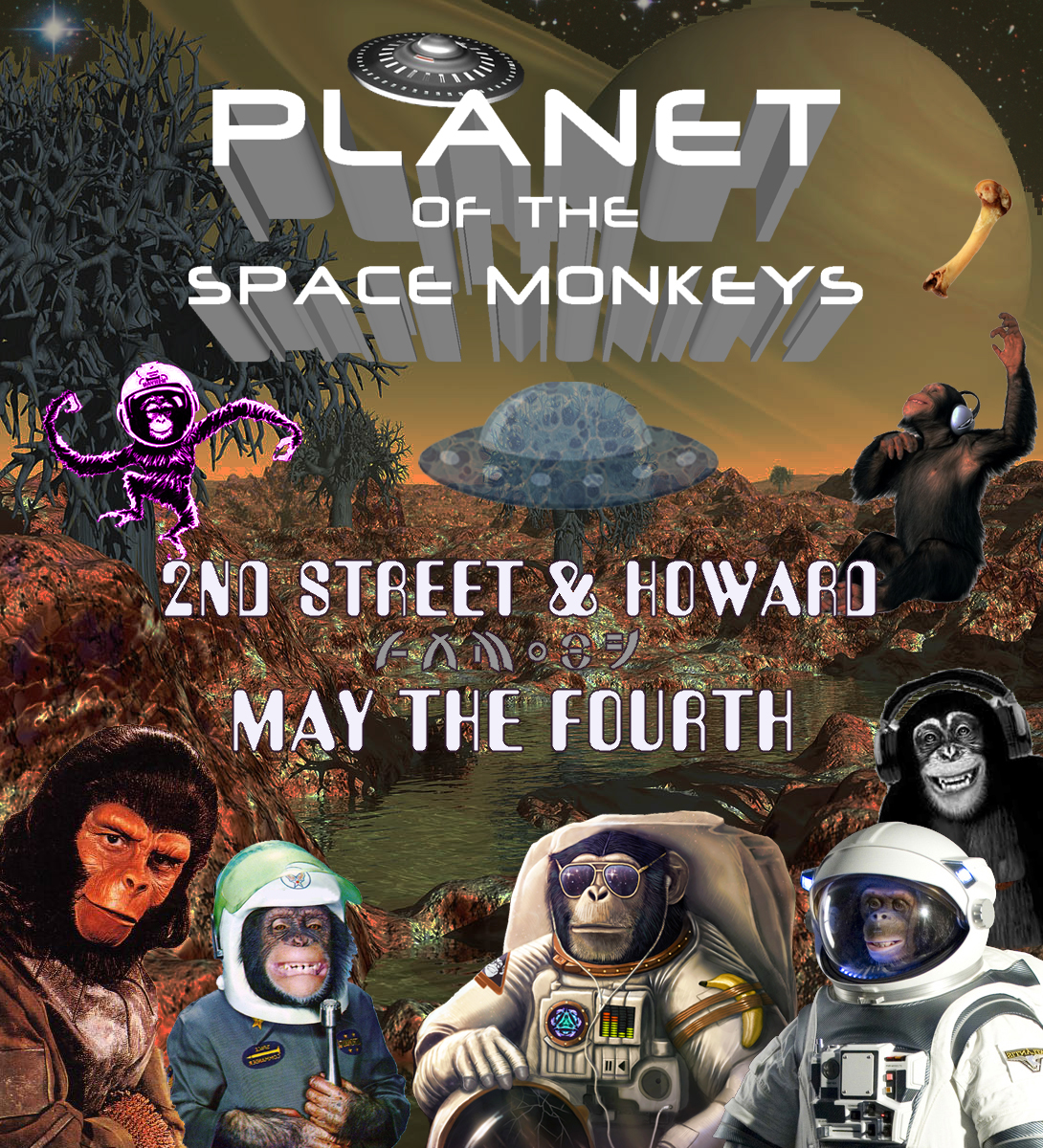 Planet of the Space Monkeys - How Weird 2014