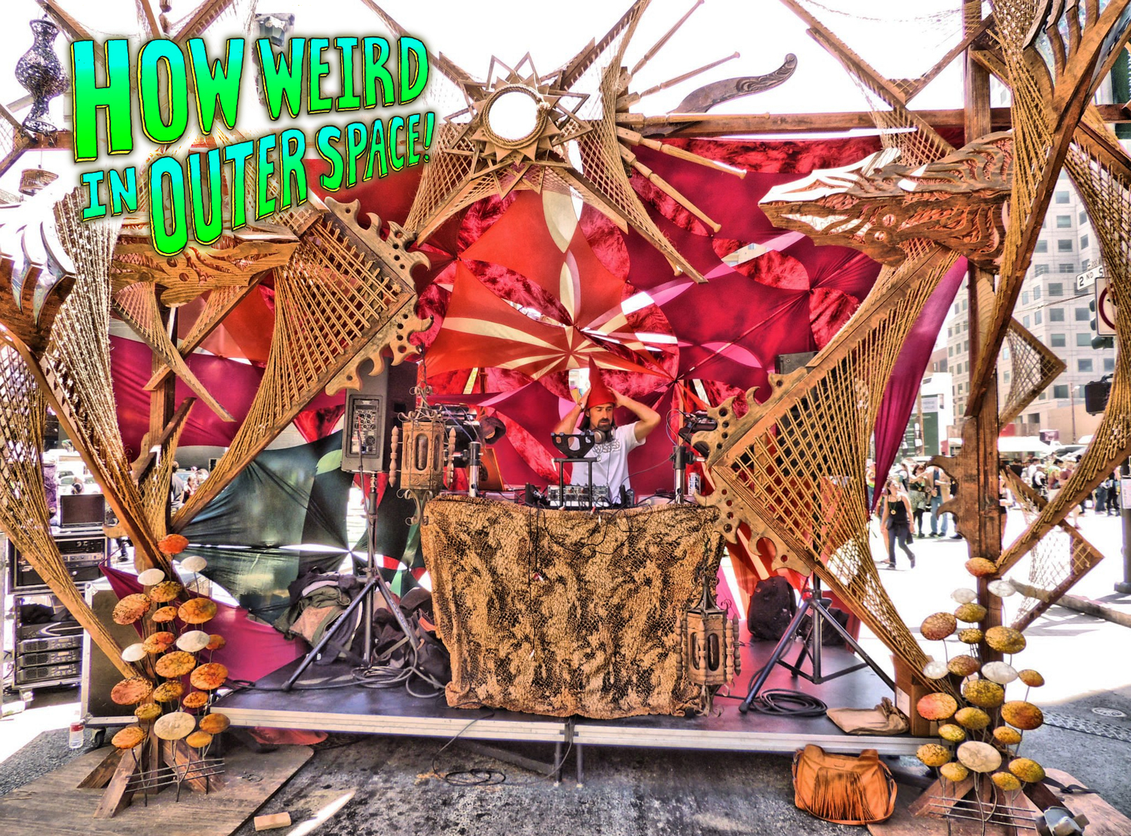 Symbiosis stage at How Weird 2013