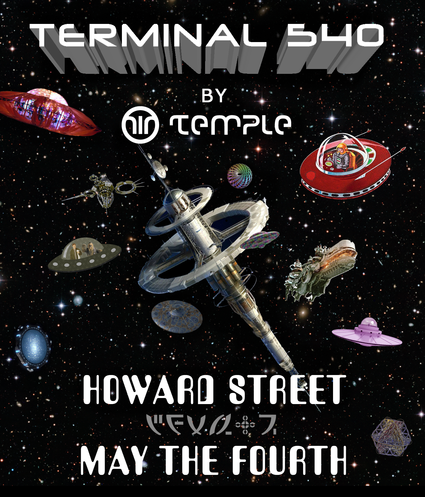 Terminal 540 stage - How Weird 2014