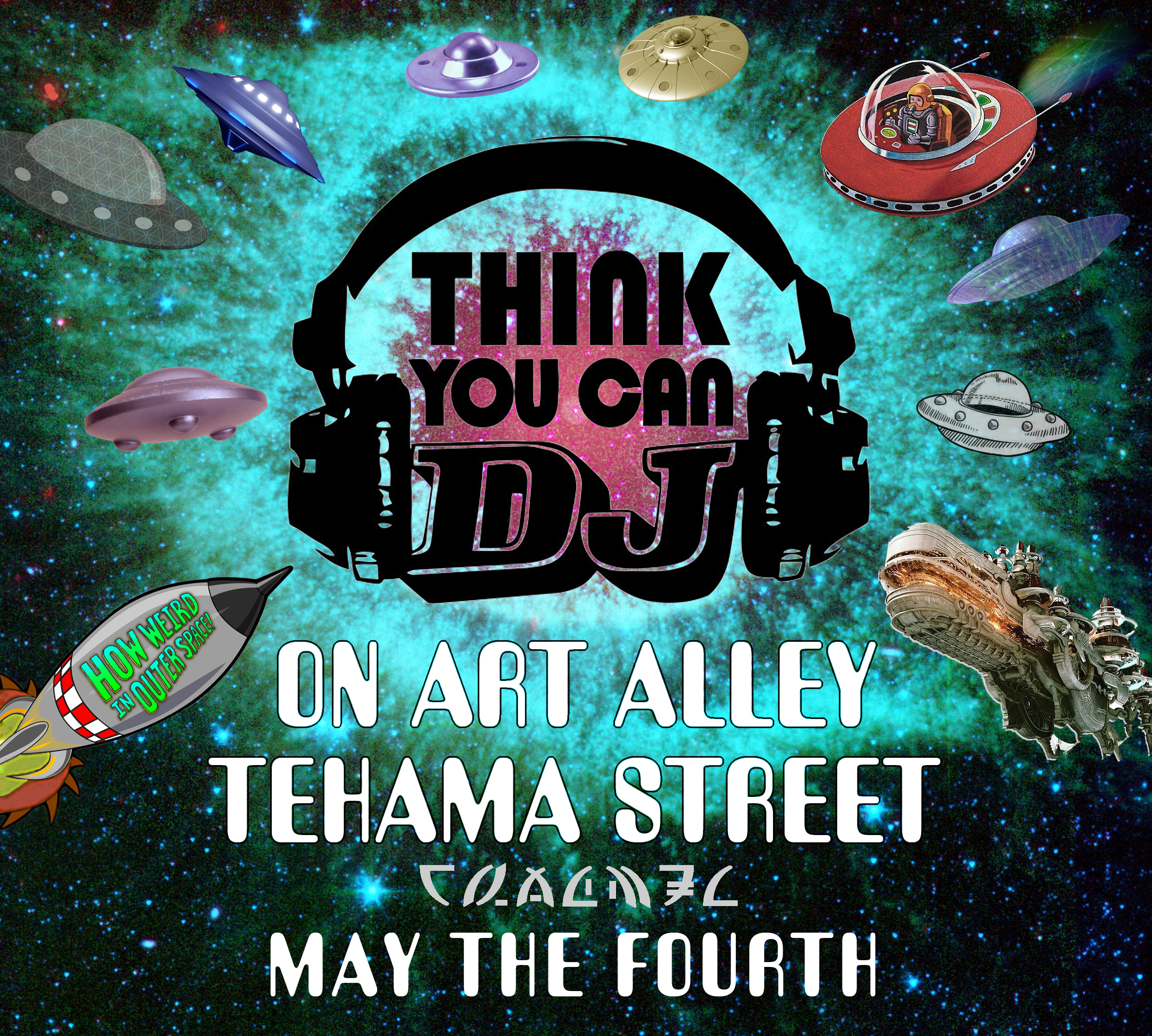 Think You Can DJ stage poster