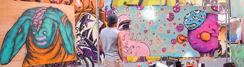 How Weird Art Alley