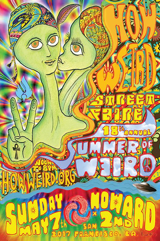 How Weird 2017 poster
