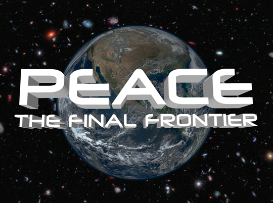 Peace - the final frontier