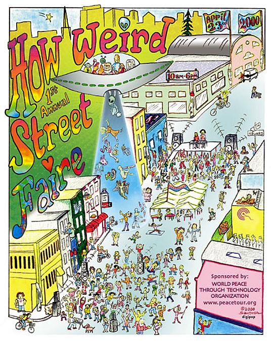 How Weird 2000 poster