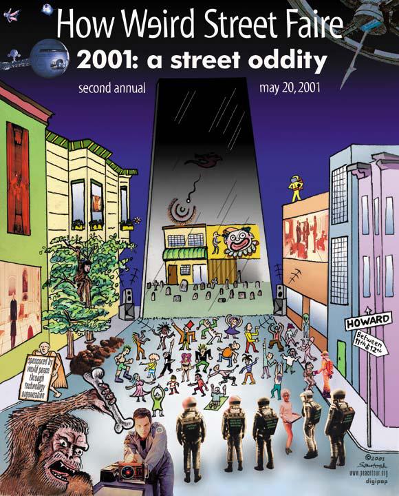 How Weird 2001 poster