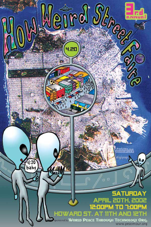 How Weird 2002 poster