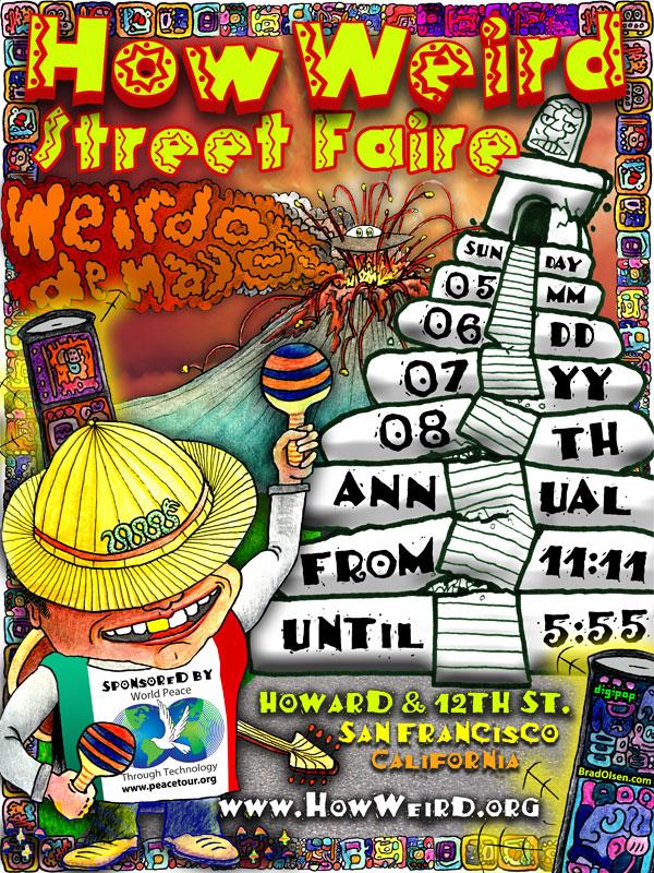 How Weird 2007 poster