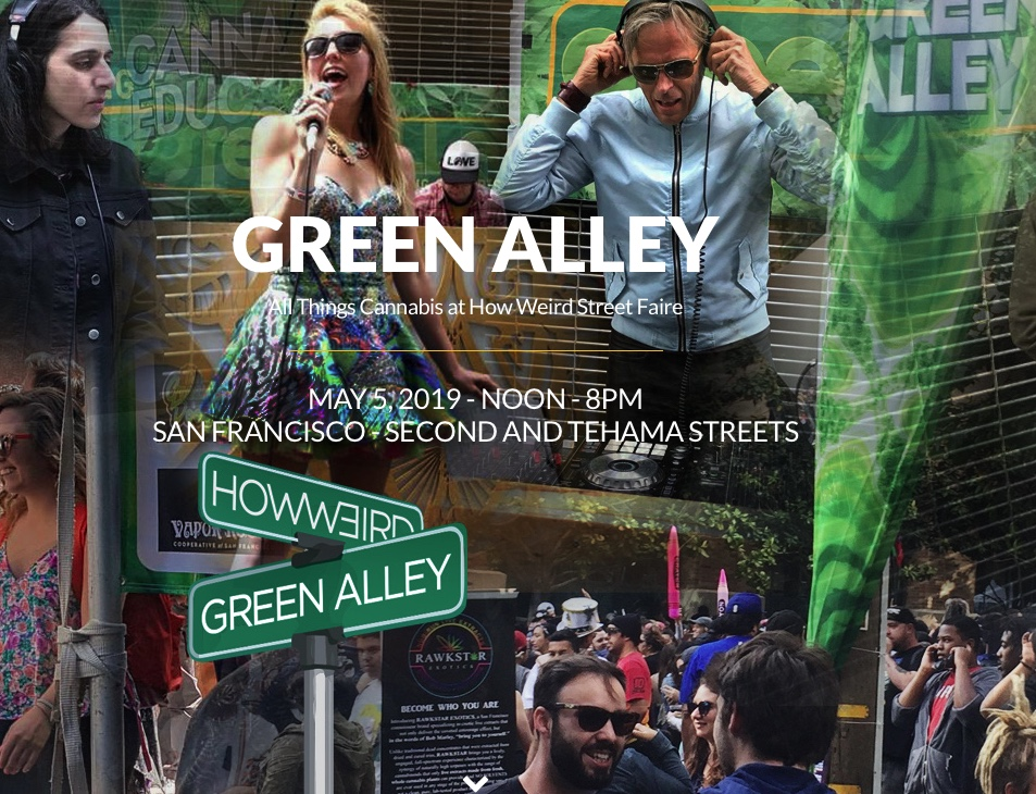 Green Alley at How Weird 2019