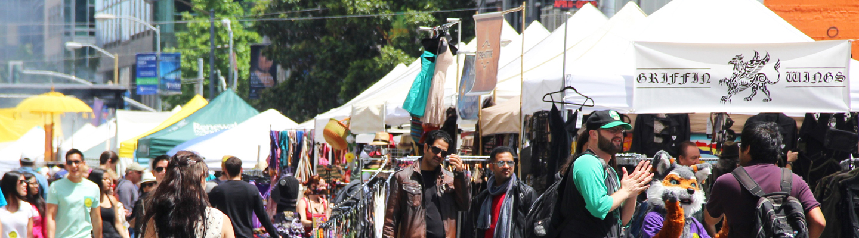 How Weird Street Faire vendors