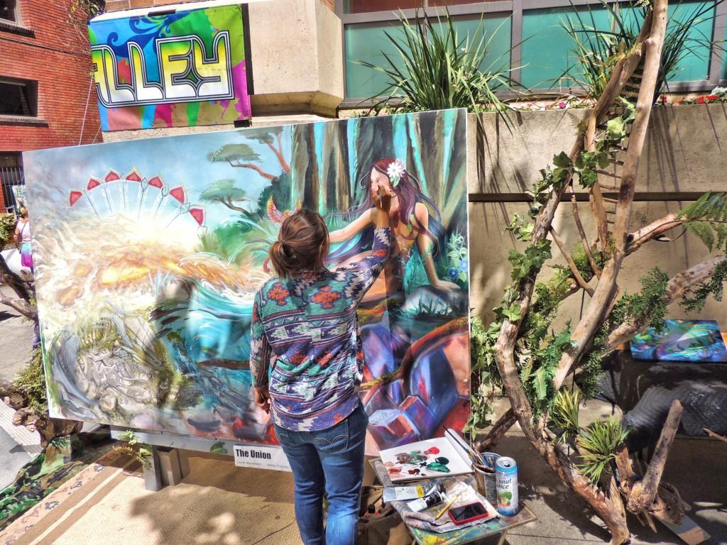 How Weird 2015 - Art Alley