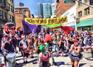 How Weird 2015 - Trashkan Marching Band