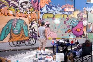 How Weird 2011 - Art Alley