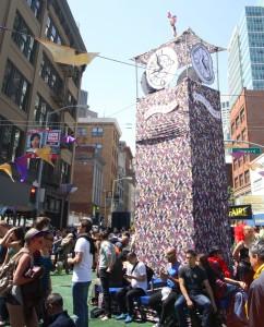 How Weird 2012 - center clocktower