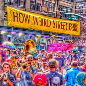 How Weird 2013 - marching band
