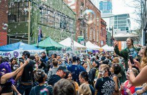 How Weird 2018 - Art Alley bubbles