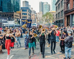 How Weird 2018 - How Weird Day Parade with Mission Delirium Band