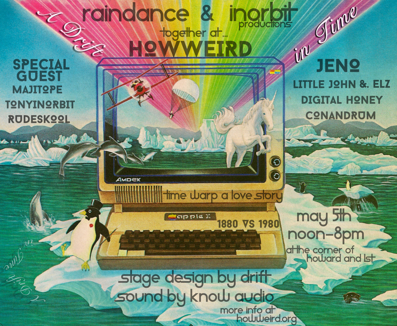 Raindance and Inorbit at How Weird 2019