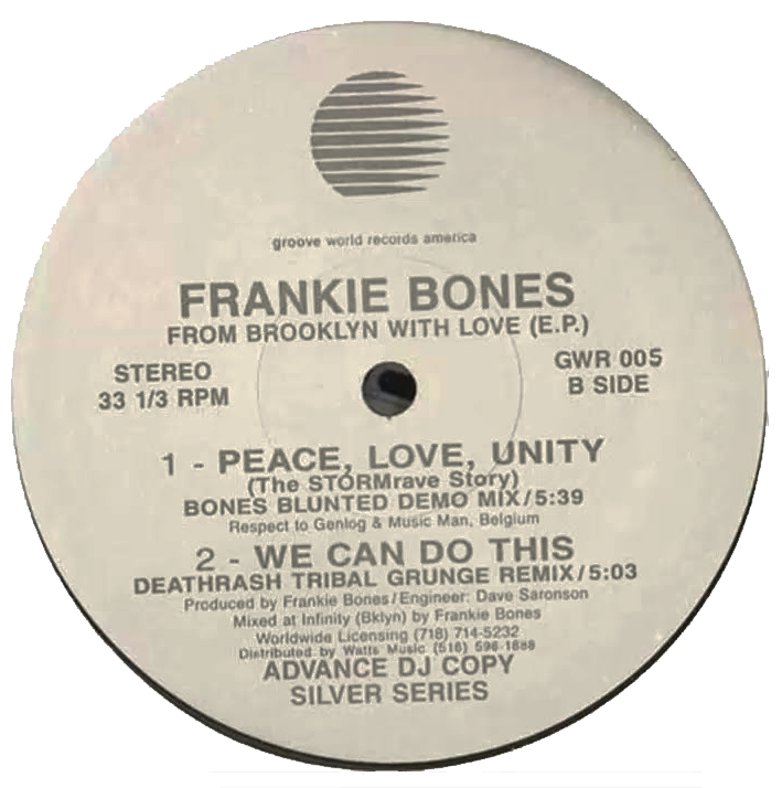Frankie Bones - Peace Love Unity (from 1993)