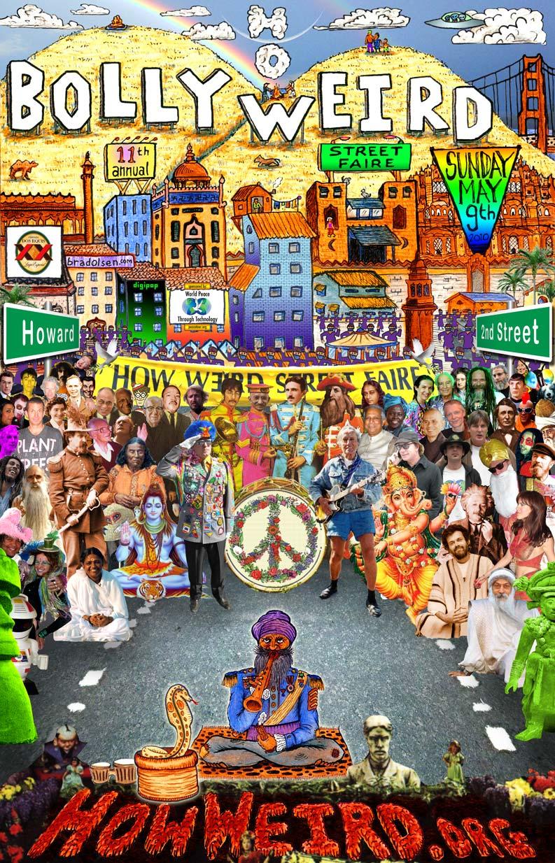 How Weird 2010 poster