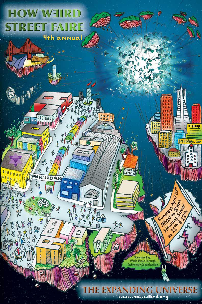 How Weird 2003 poster