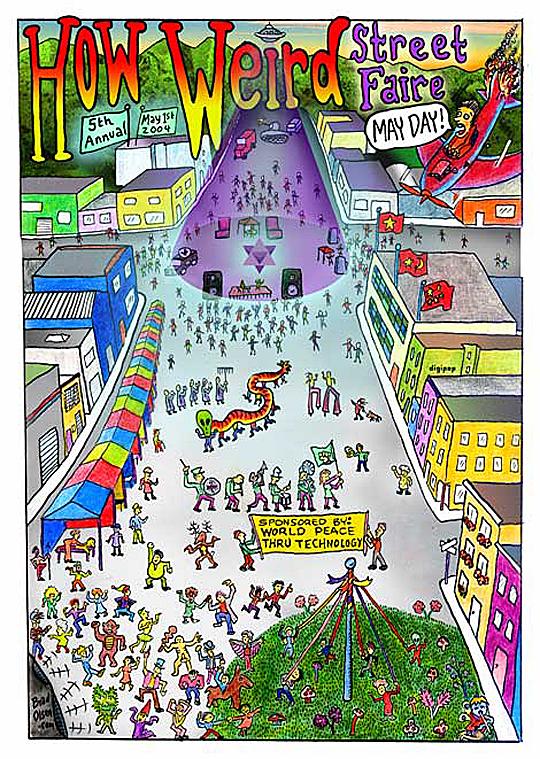 How Weird 2004 poster