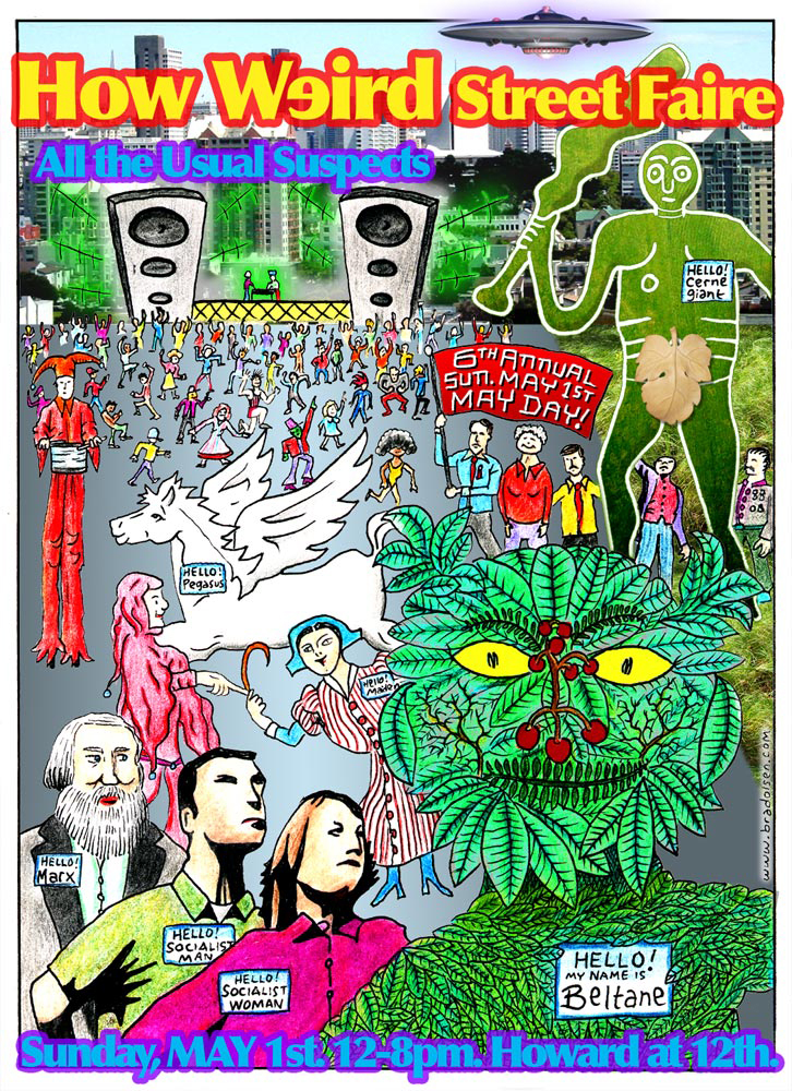 How Weird 2005 poster