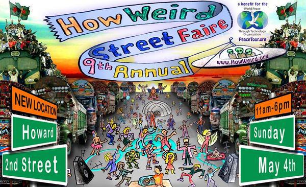 How Weird 2008 poster