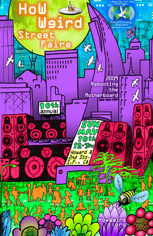 How Weird 2009 poster