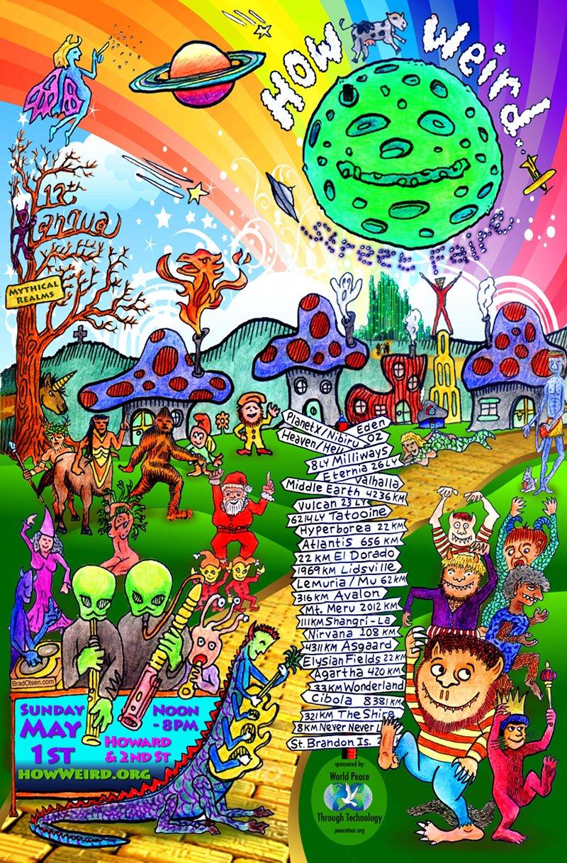 How Weird 2011 poster