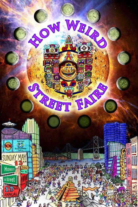 How Weird 2012 poster