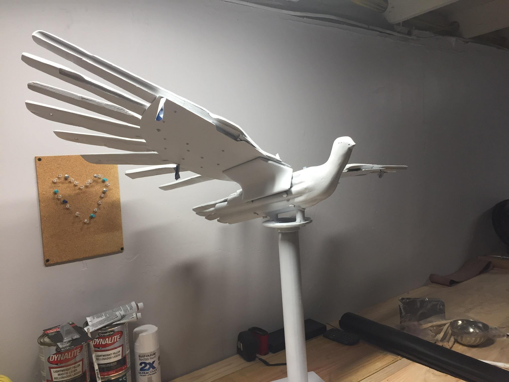 WPTTO Peace Dove in progress